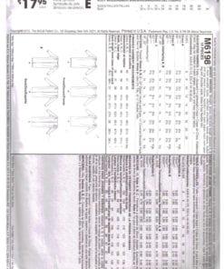 McCalls M6198 J 1