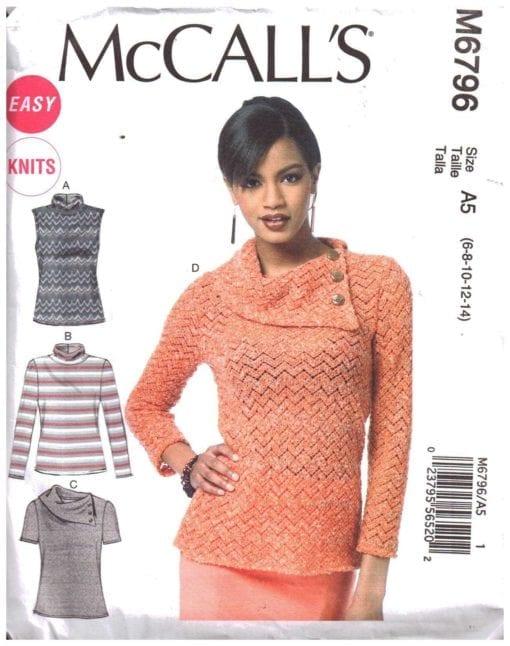 McCalls M6796 J