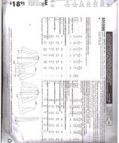 McCalls M6996 J 1