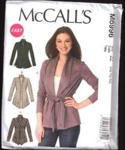 McCalls M6996 J