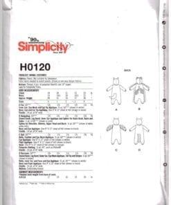 Simplicity H0120 J 1