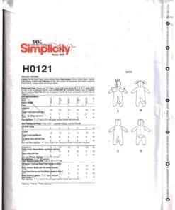 Simplicity H0121 J 1