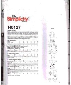 Simplicity H0127 J 1
