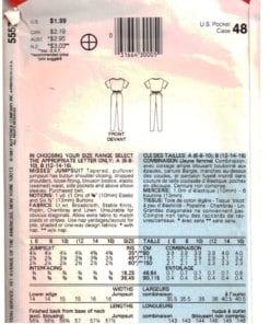 Butterick 5557 N 1