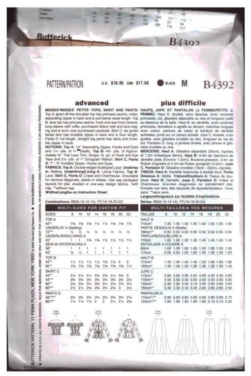 Butterick B4392 N 1