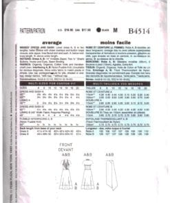 Butterick B4514 O 1