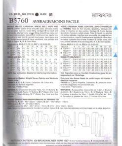 Butterick B5760 O 1