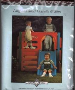 Chery Williams Long Short Overalls Shirt