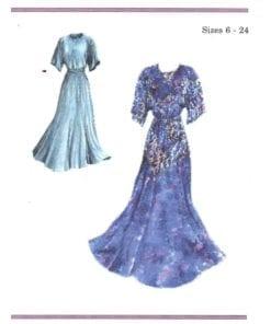 Dos de Tejas Patterns 6015