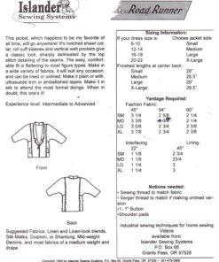 Islander Sewing Systems Road Runner 1