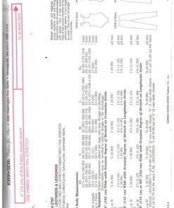 Kwik Sew 2797 S 1