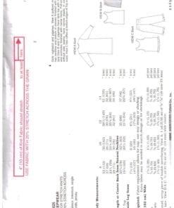 Kwik Sew 3025 O 1