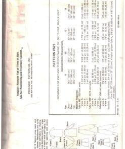 Kwik Sew 523 O 1