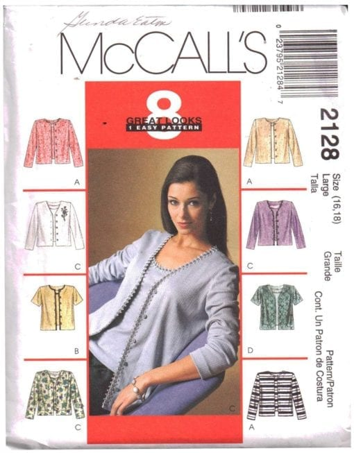 McCalls 2128 O