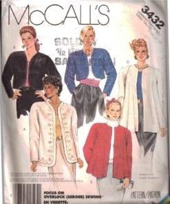 McCalls 3432 O