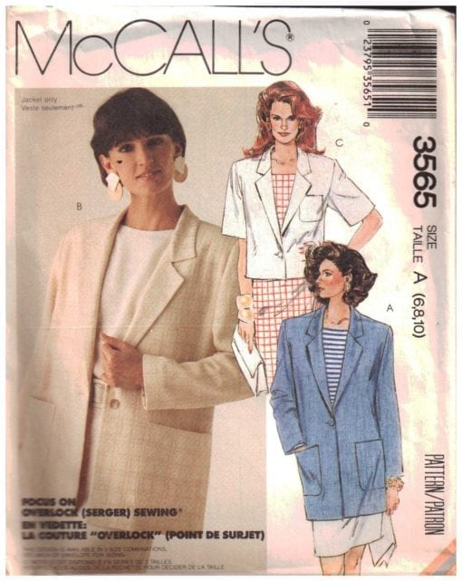 McCalls 3565 O