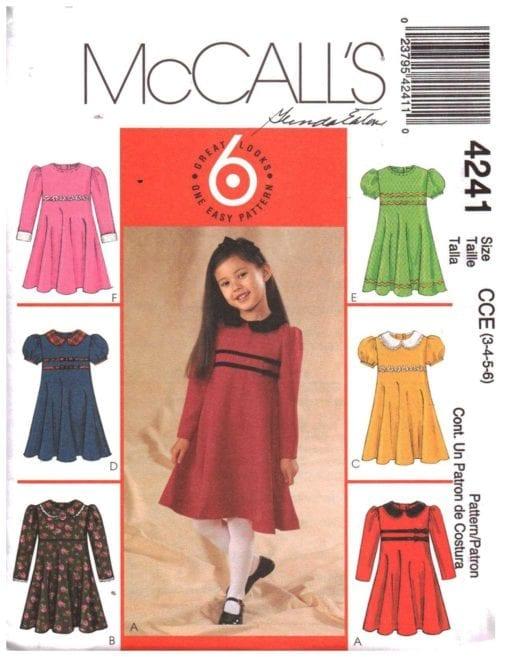McCalls 4241 O