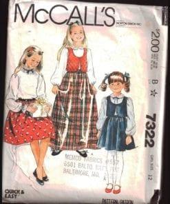 McCalls 7322 O