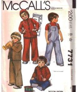 McCalls 7731 O