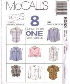 McCalls 8053 O