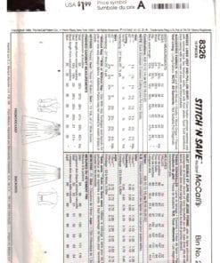 McCalls 8326 O 1