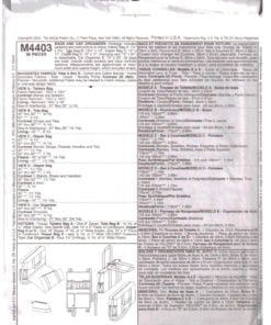 McCalls M4403 O 1