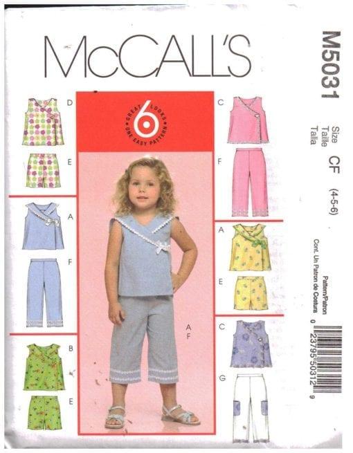McCalls M5031 S