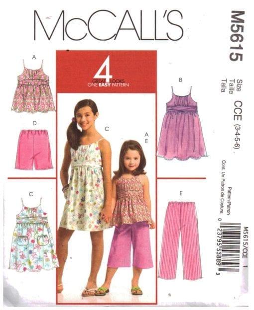 McCalls M5615 S