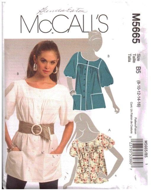 McCalls M5665 S