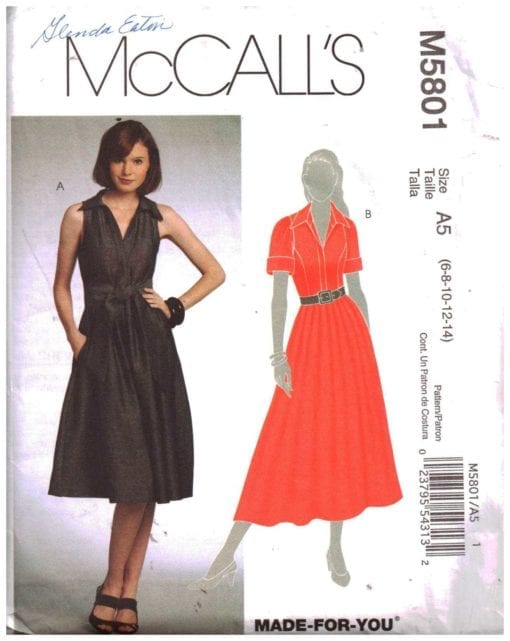 McCalls M5801 S