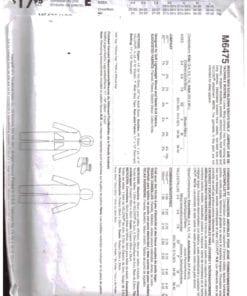 McCalls M6475 O 1