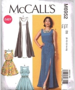McCalls M6952 O