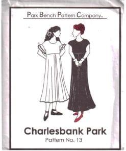Park Bench Pattern Company 13 O