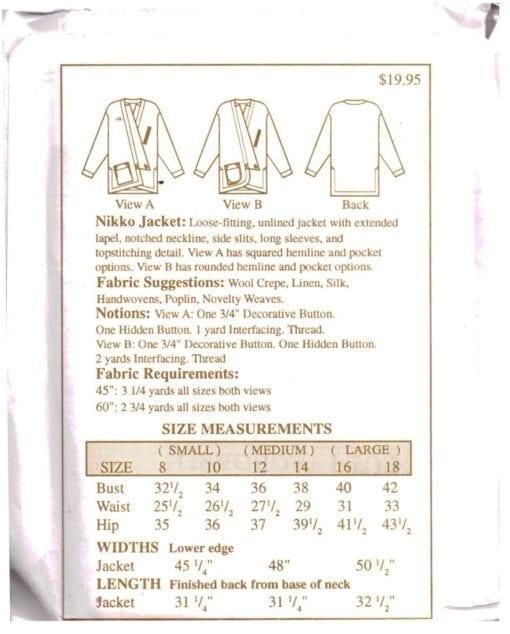 The Sewing Workshop Nikko Jacket 1