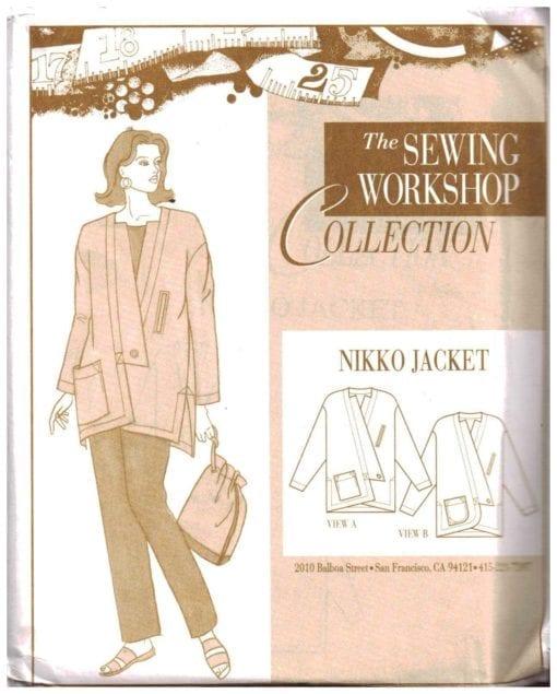 The Sewing Workshop Nikko Jacket