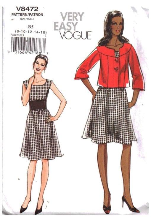 Vogue V8472 S