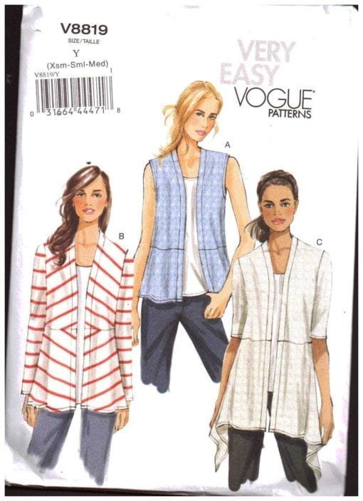 Vogue V8819 O