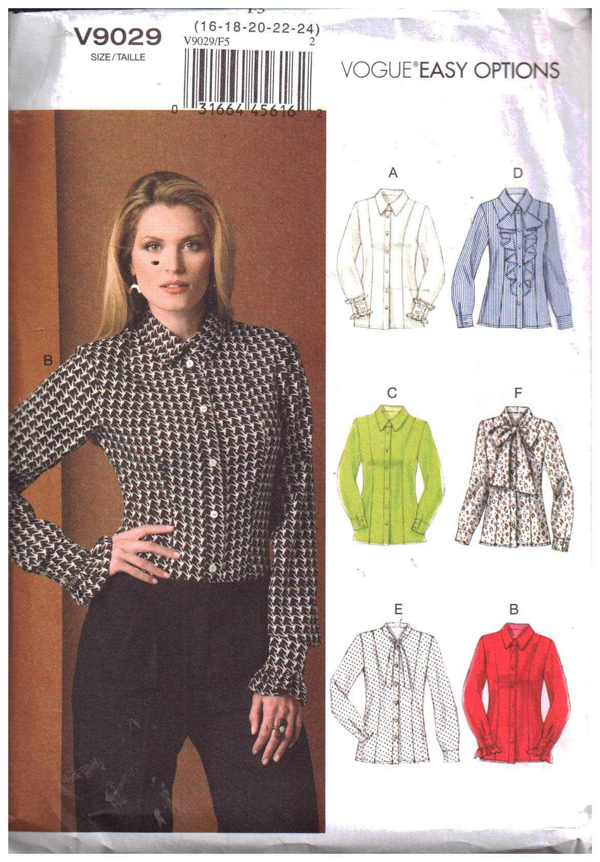 Vogue V9029 A