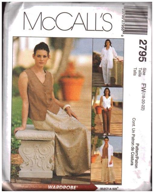 McCalls 2795 O