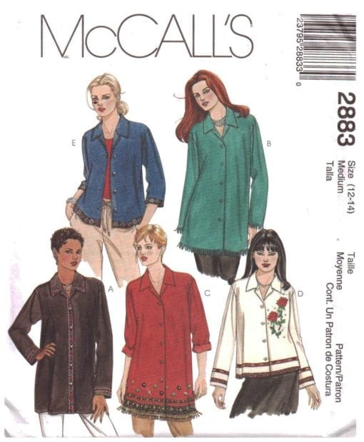 McCalls 2883 O