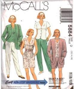 McCalls 5884 O
