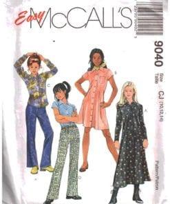 McCalls 9040 O