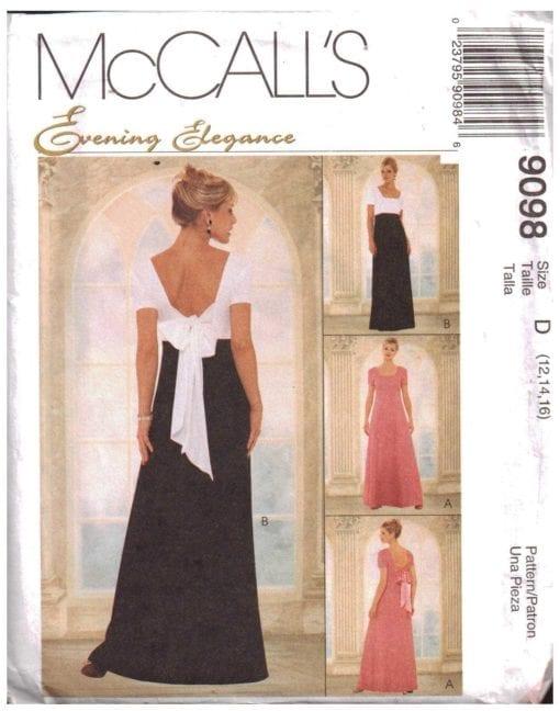 McCalls 9098 O