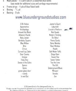 Blue Underground Studios Quilt Blue Moon 1