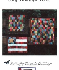 Butterfly Threads Quilting Tiny Tumbler Trio