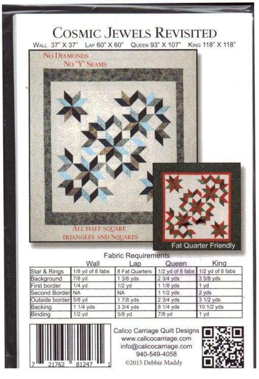 Calico Carriage Quilt Design CCQD 158 1