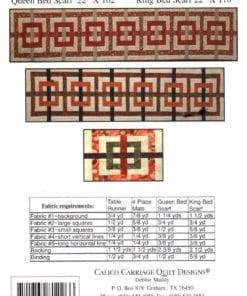 Calico Carriage Quilt Design CCQD144 1