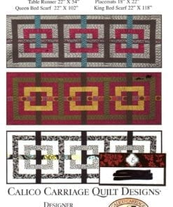 Calico Carriage Quilt Design CCQD144