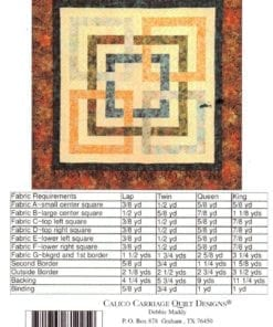 Calico Carriage Quilt Designs CCQD145 1