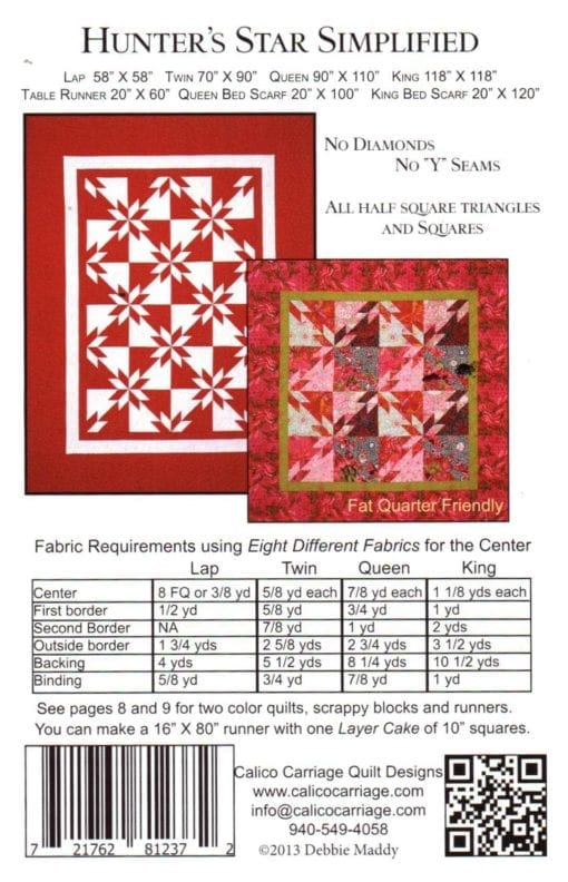 Calico Carriage Quilt Designs CCQD153 1